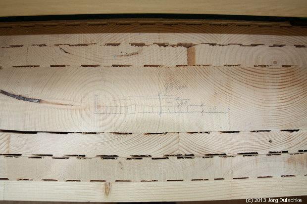 Skizze vom Bodenaufbau in unserem Holz100-Haus