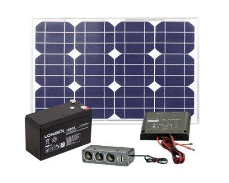 Solarstromset - Strom herstellen mit der Sonne