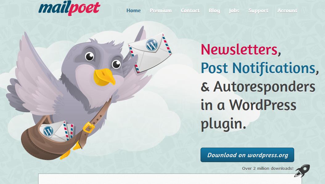 Mailpoet - Newsletter-Plugin für WordPress