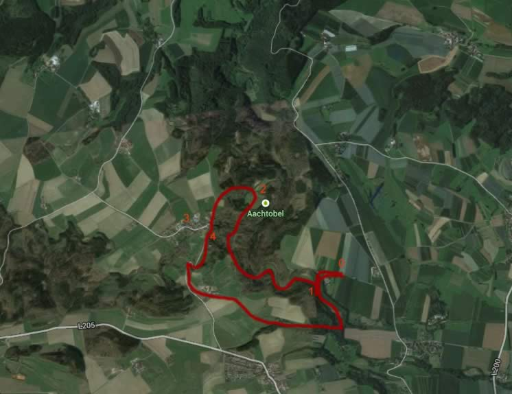 Wandern am Bodensee: Aachtobel