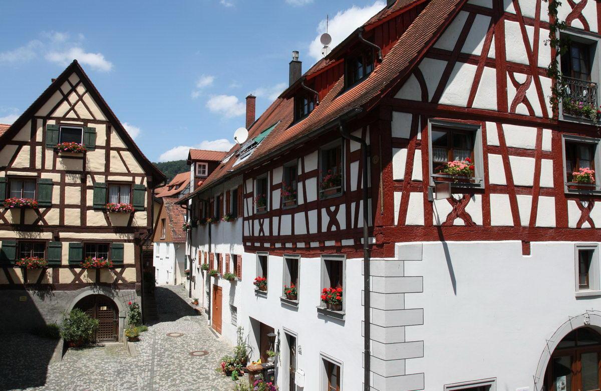 Wunderschönes Fachwerk im Ortskern von Sipplingen am Bodensee