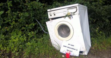 Je suis une machine à laver!